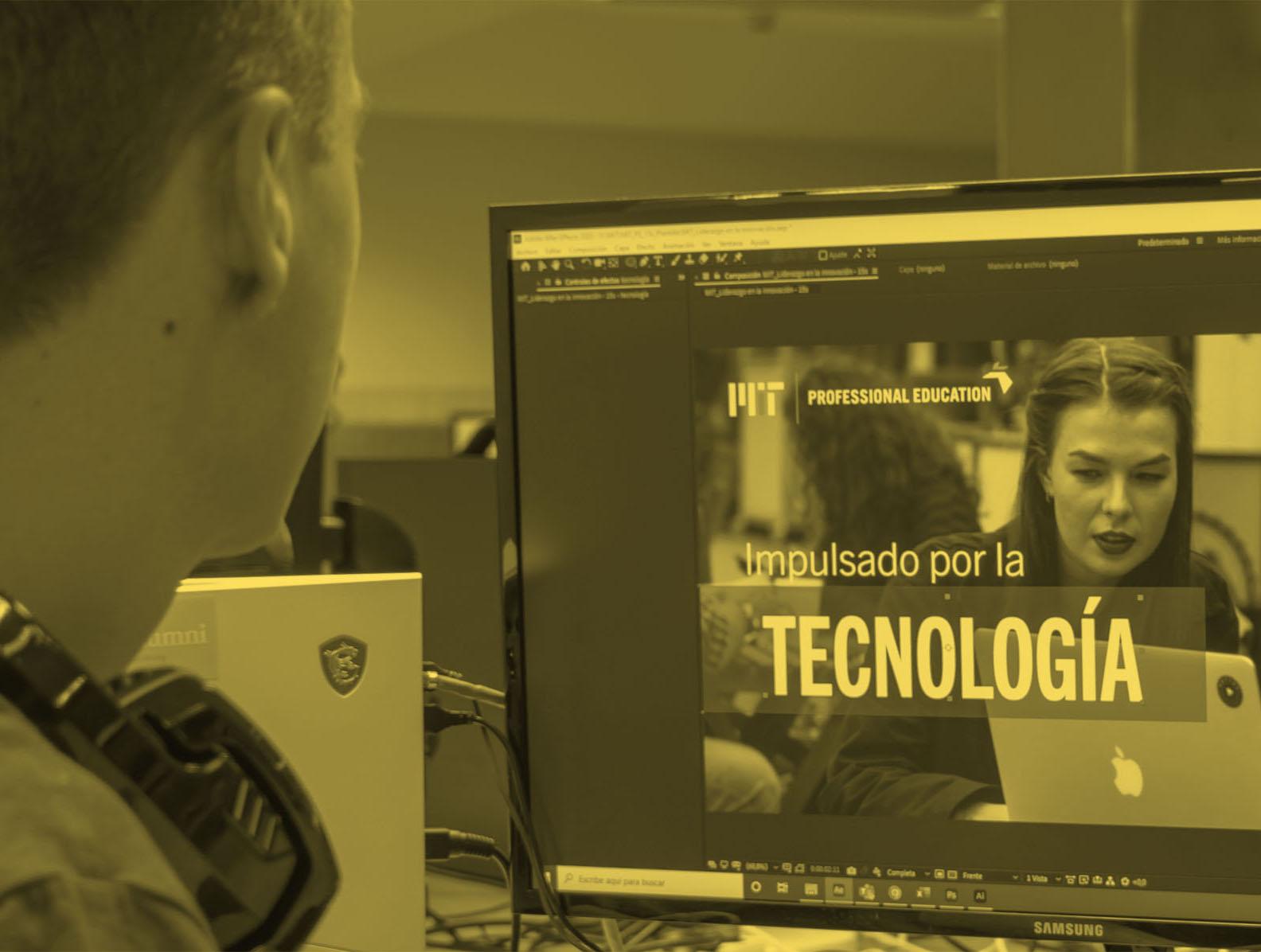 Tecnología al servicio de la experiencia educativa